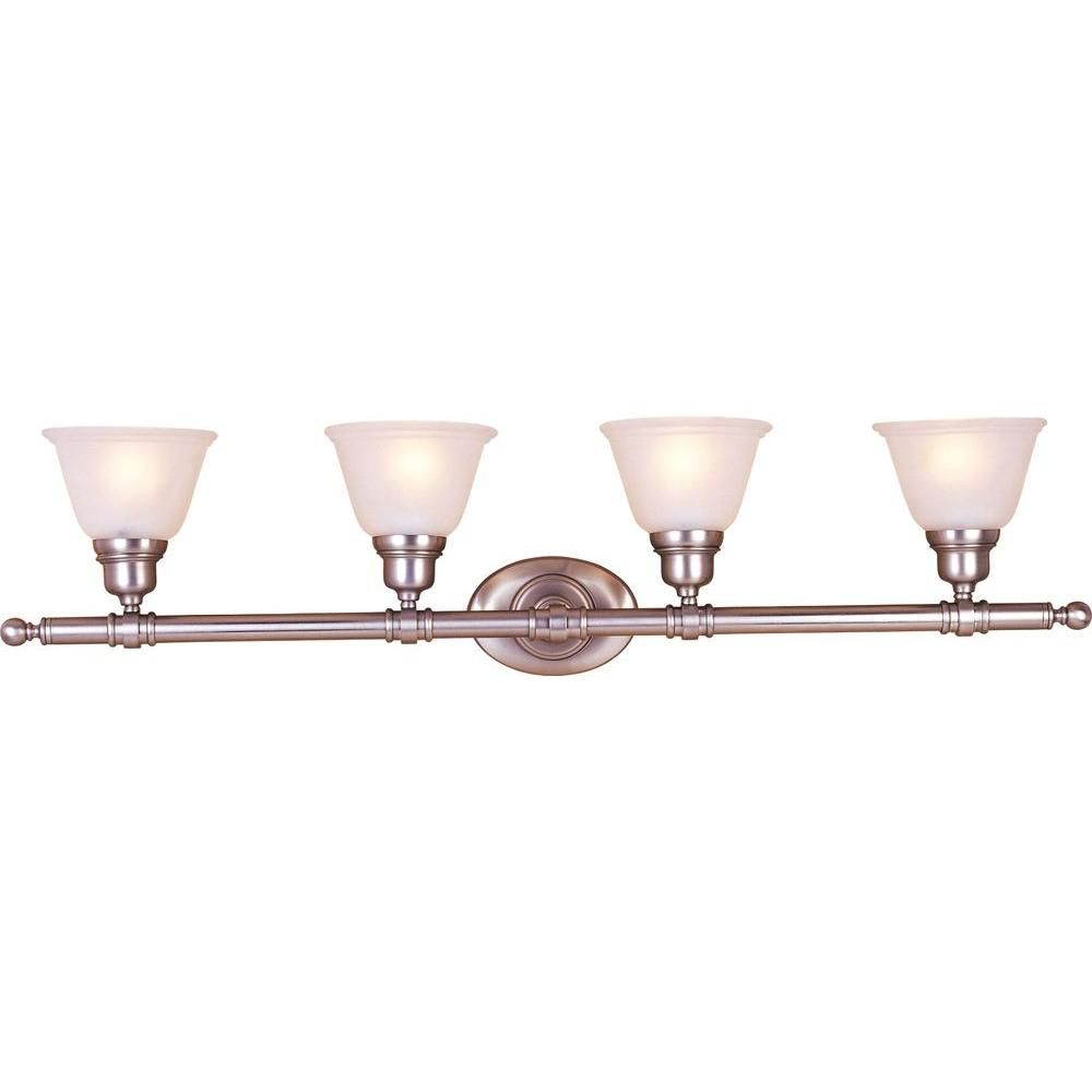 Maxim Lighting Essentials - 714x Satin Nickel Bath Vanity Light