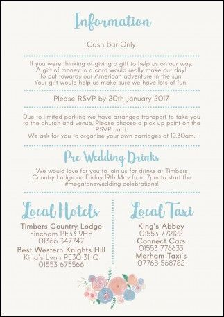 Cash Bar Wording On Wedding Invitations I M Getting Married In