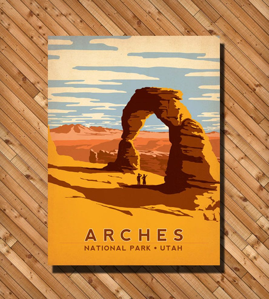 Arches National Park Print by Anderson Design Group on Scoutmob