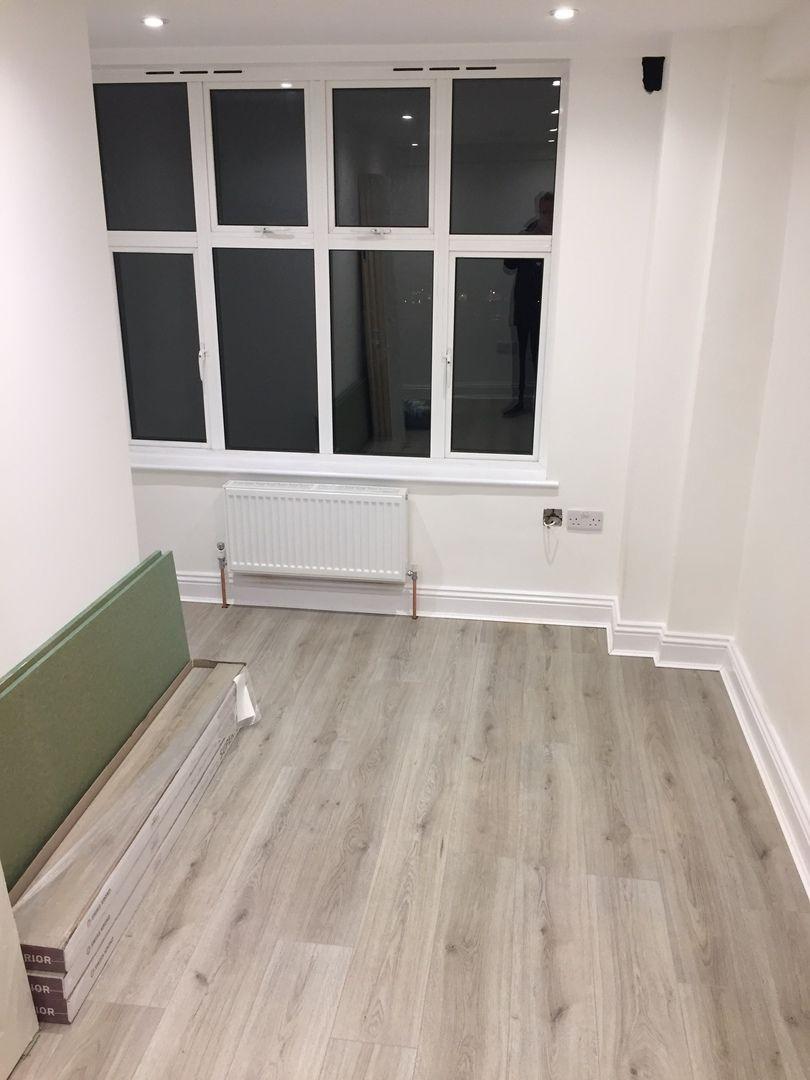 Farmhouse Light Grey Oak Laminate Flooring Laminatnyj Pol