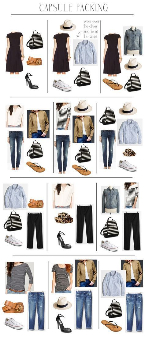 69a2fff78022 Travel style  How to plan cute outfits for vacation in a carry-on ...