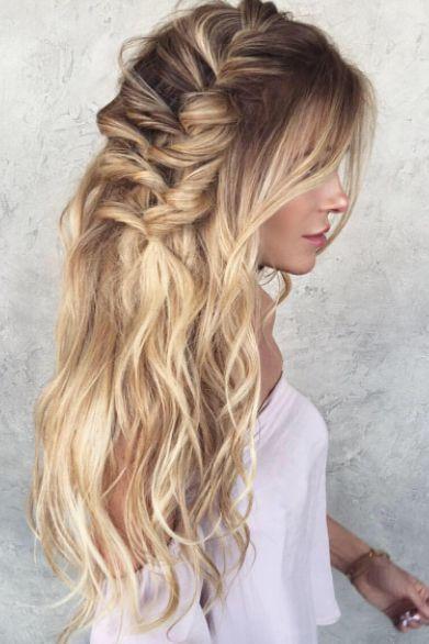 Beach Waves And Braids Long Hair Mermaid Easy