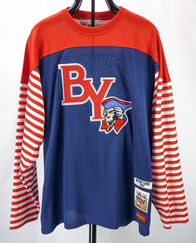 JC Freeman BOSTON YANKS Throwback Jersey XL Grid Iron Vintage NFL Football  Shirt  JCFreemanSon  BostonYanks 4288cd9fe