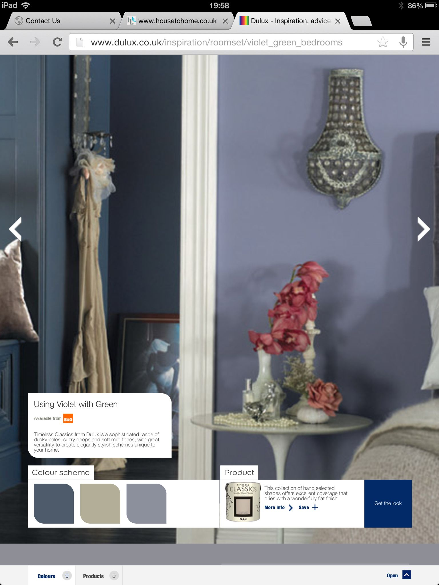 Dulux pressed thistle | house | Blue bedroom, Home decor ...