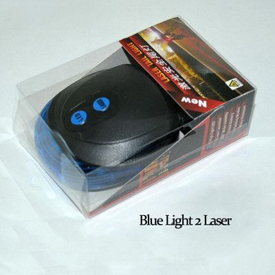Seatpost Bicycle Light 2 Lasers Cycling Safety Backlight 7