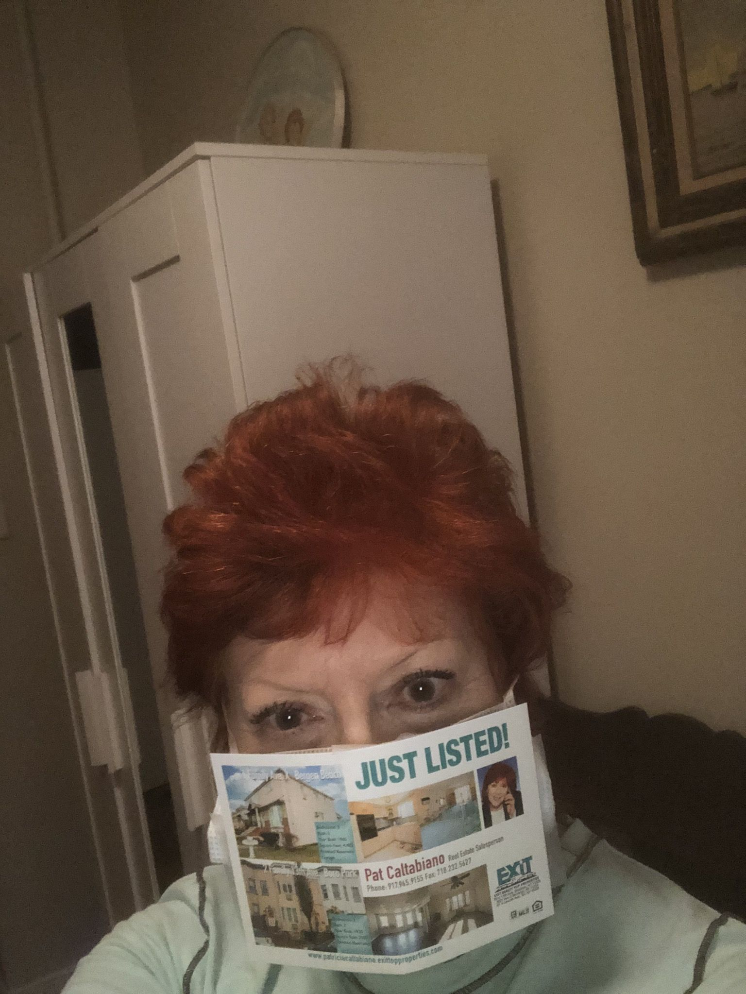 Im still a realtor using my postcards as a bill board