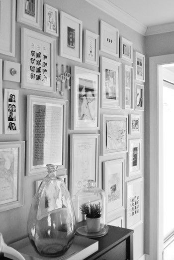 Pin by Keri Butler on Feature wall   Pinterest   Gray, Gallery wall ...