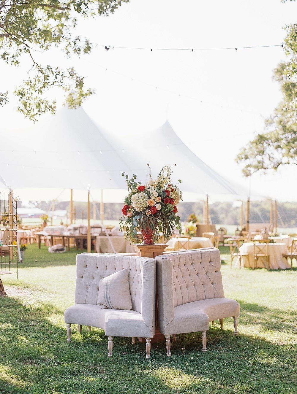 This Italian Wedding In Arkansas Had A Mega Size Guest List Ruffled Italian Wedding Wedding Guest Book Wood Wedding Decorations