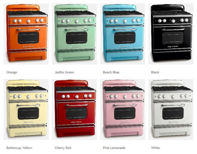 how to paint vintage appliances | ... FROM THE TV MESSAGE ...