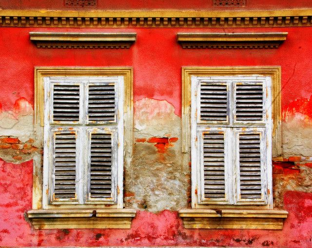 Some vintage shutters from around the world