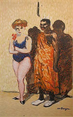 Les artistes du cirque, 1905