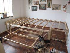 Podest Mit Ausziehbarem Bett Darunter Nico Pinterest Bedroom