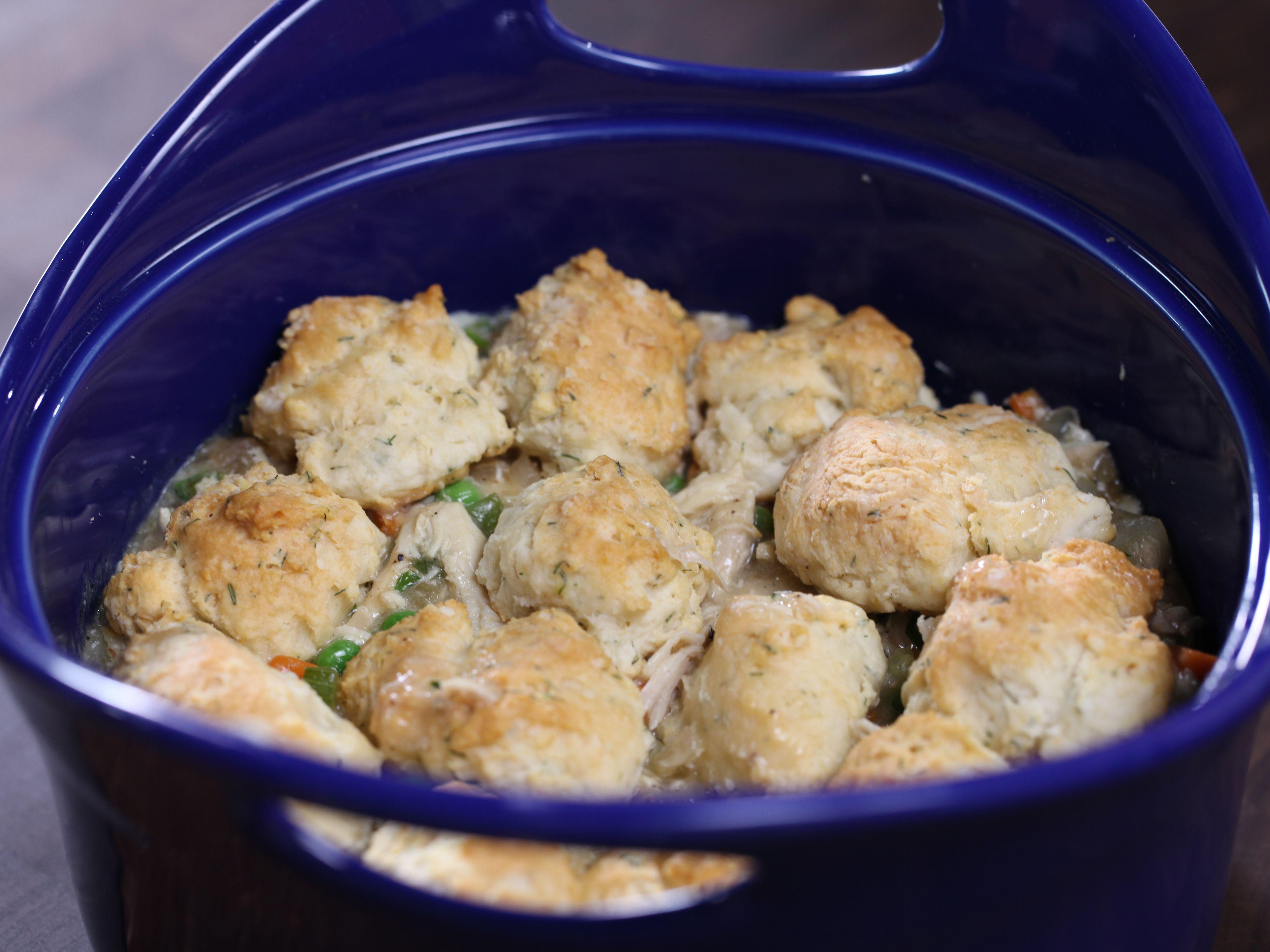 Drop biscuit chicken pot pie recipe rachael ray food network drop biscuit chicken pot pie forumfinder Images