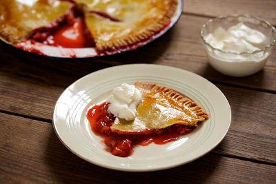 Rhabarber-Erdbeer-Pie... der beste der Welt