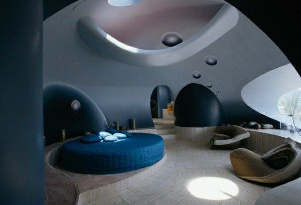 Perfect Futuristische Schlafzimmer Designs   26 Originelle Einrichtungsideen Awesome Ideas