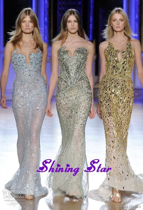Robes de soiree longues haute couture