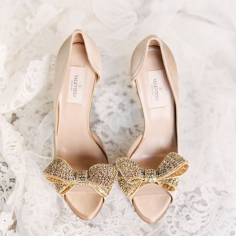 Valentino Pumps With Images Gold Wedding Shoes Wedding Shoes Valentino Pumps