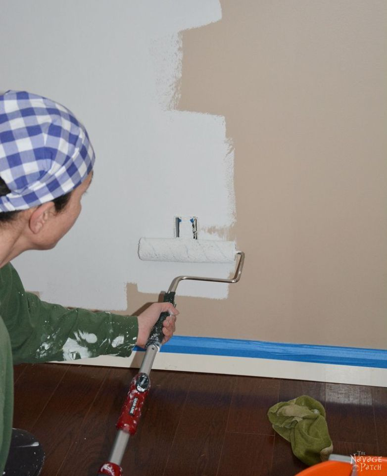 Painting 101 How To Paint A Room Tips On Interior Walls Step By Tutorial Prep For Wall Choose
