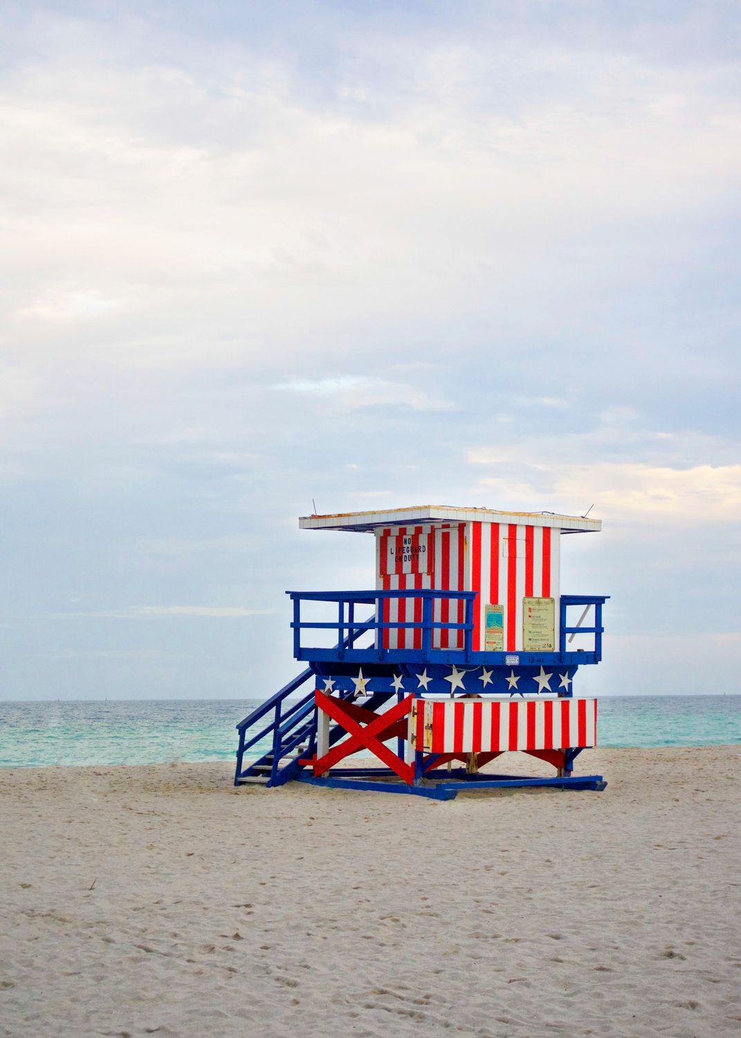Happy 4th Of July Ashley Brooke Designs Lifeguard Stands Lifeguard Tower Beach Lifeguard
