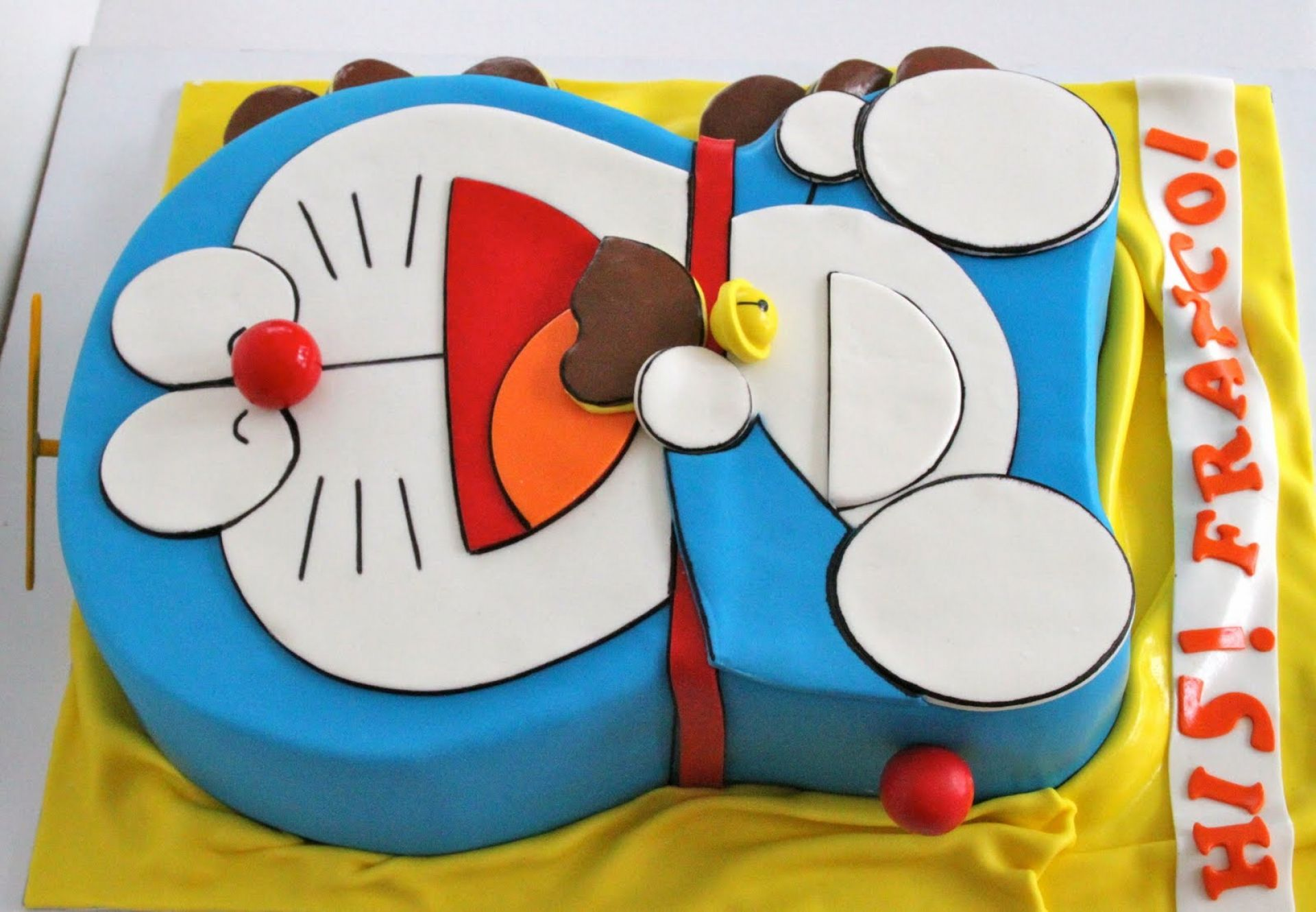 Doraemon Birthday Cake Widescreen Wallpaper HD Cartoons Images