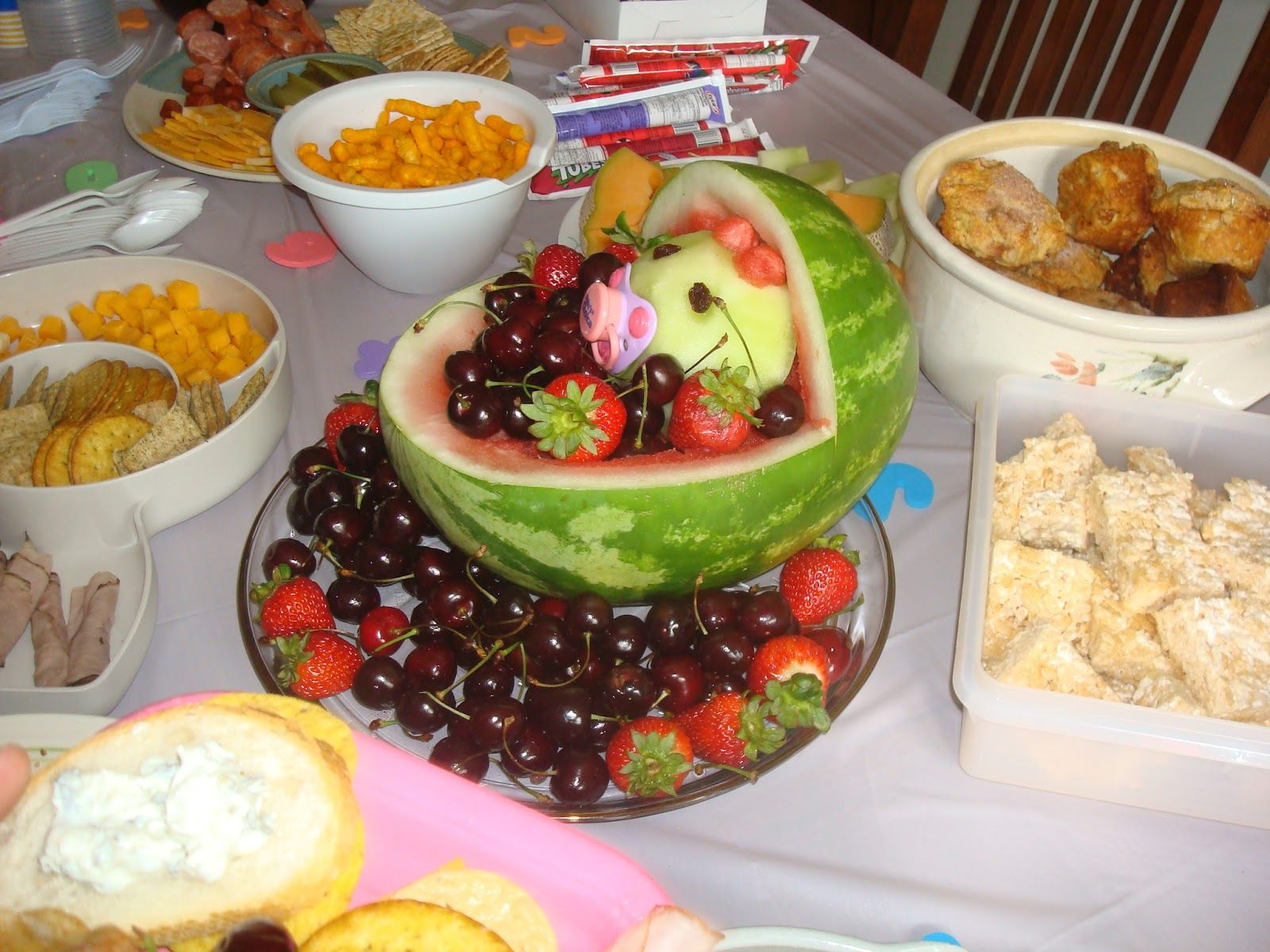 Snacks For Baby Showers ~ Finger food ideas for a baby shower photo