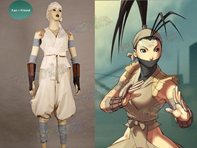 street fighter cosplay ibuki costume set cosplay pinterest