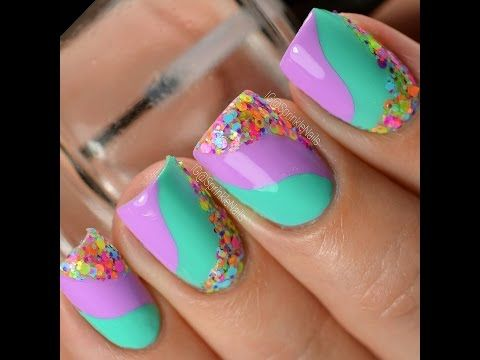 Nail Art Design For Short Nail Compilation 17 Youtube Nails