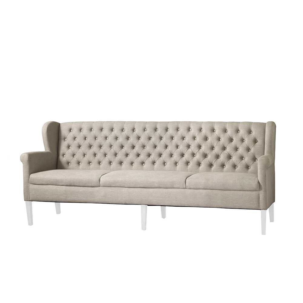 sofabank beige gepolstert britain neue wohnung pinterest neue wohnung wohnen und polsterbank. Black Bedroom Furniture Sets. Home Design Ideas