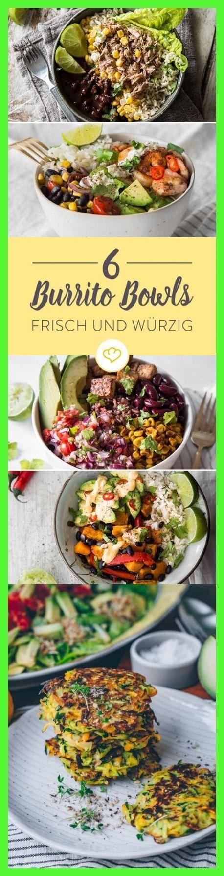 Photo of Lass dich von diesen 6 Burrito Bowl Rezepten inspirieren und fülle deine Schüs…