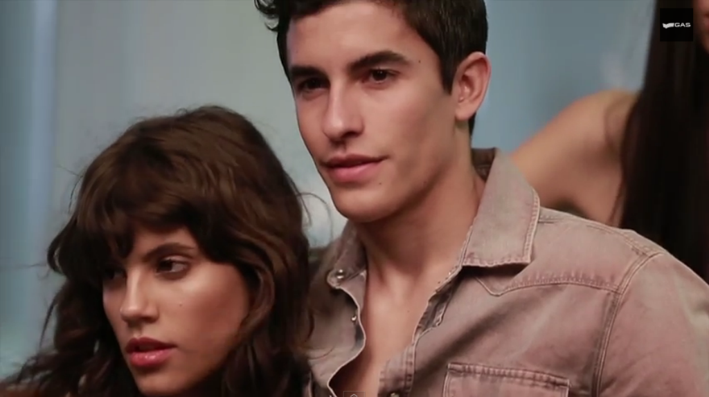 Gas Jeans Spring Summer 2015 Backstage With Marc Marquez (VIDEO)