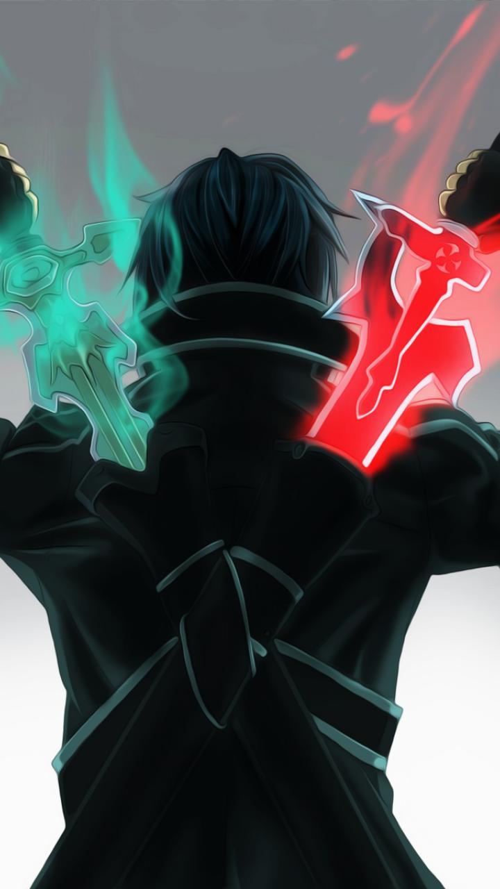 Anime Sword Kirigaya kazuto Sword art online Время