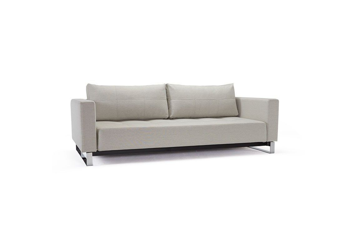 Cassius D E L Sofa Bed In Mixed Dance Grey Sofa Bed Queen Danish Design Sofa Sofa