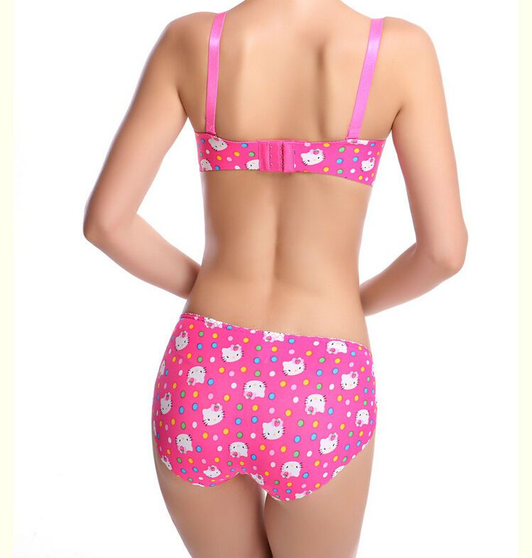 fd28729a94 Hello Kitty Bra and Panty Set Back
