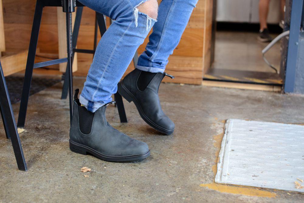 Blundstone 1308 Boot Rustic Black Rustic Black Blundstone Urban Style Boots
