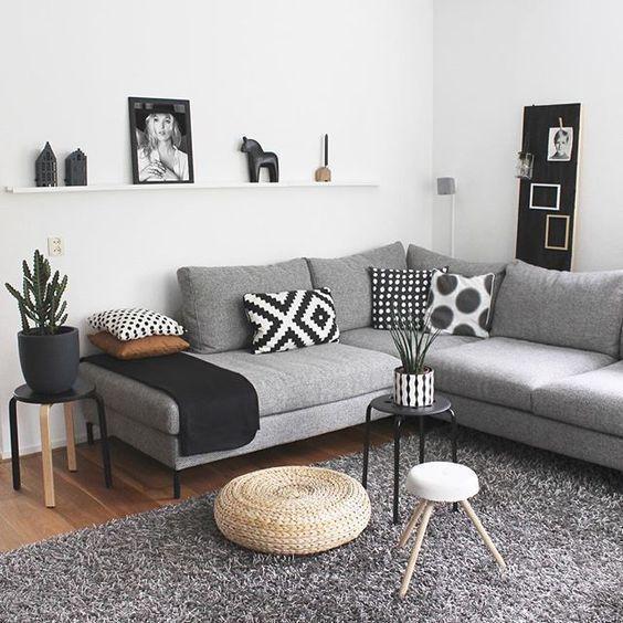 Photo of 60+ graue kleine Wohnzimmer-Apartment-Designs, um fantastisch auszusehen – Kornelia Beauty – Dekoration – Welcome to Blog