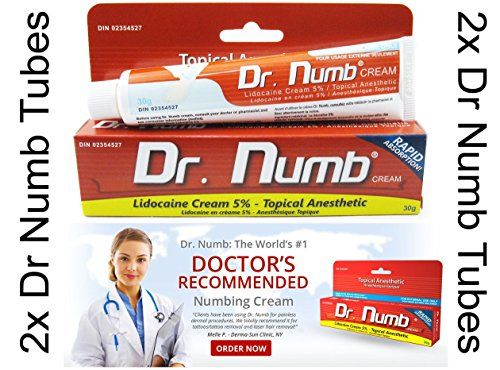 Http Yourhealthandpersonalcare Info Qty 2 Dr Numb 30g Numbing Anesthetic Skin 5 Lidocaine Cream For Tattoo Piercing Laser Waxing How To Apply Dr Numb Topi