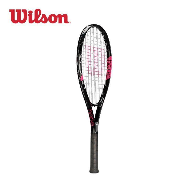 Original Wilson Lightweight Girls Initial Study Tennis Racket Carbon Aluminum Integral Mp Racket Surface Universal Wrt32 Girls Initials Tennis Racket Rackets