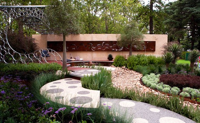 Backyard Landscaping Shows : Chelsea flower show garden art design ideas modern