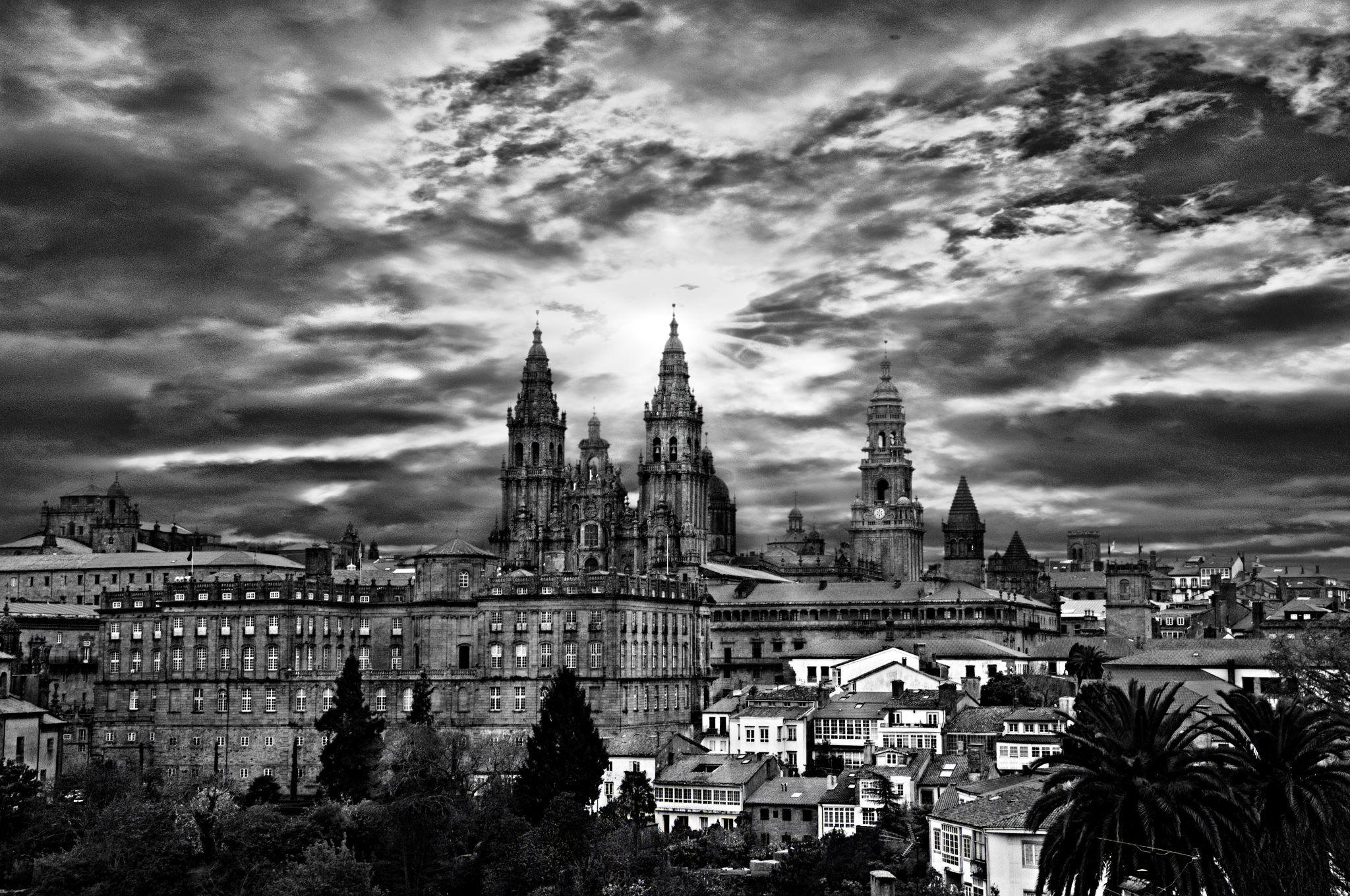 Amazing  Santiago de Compostela Cathedral