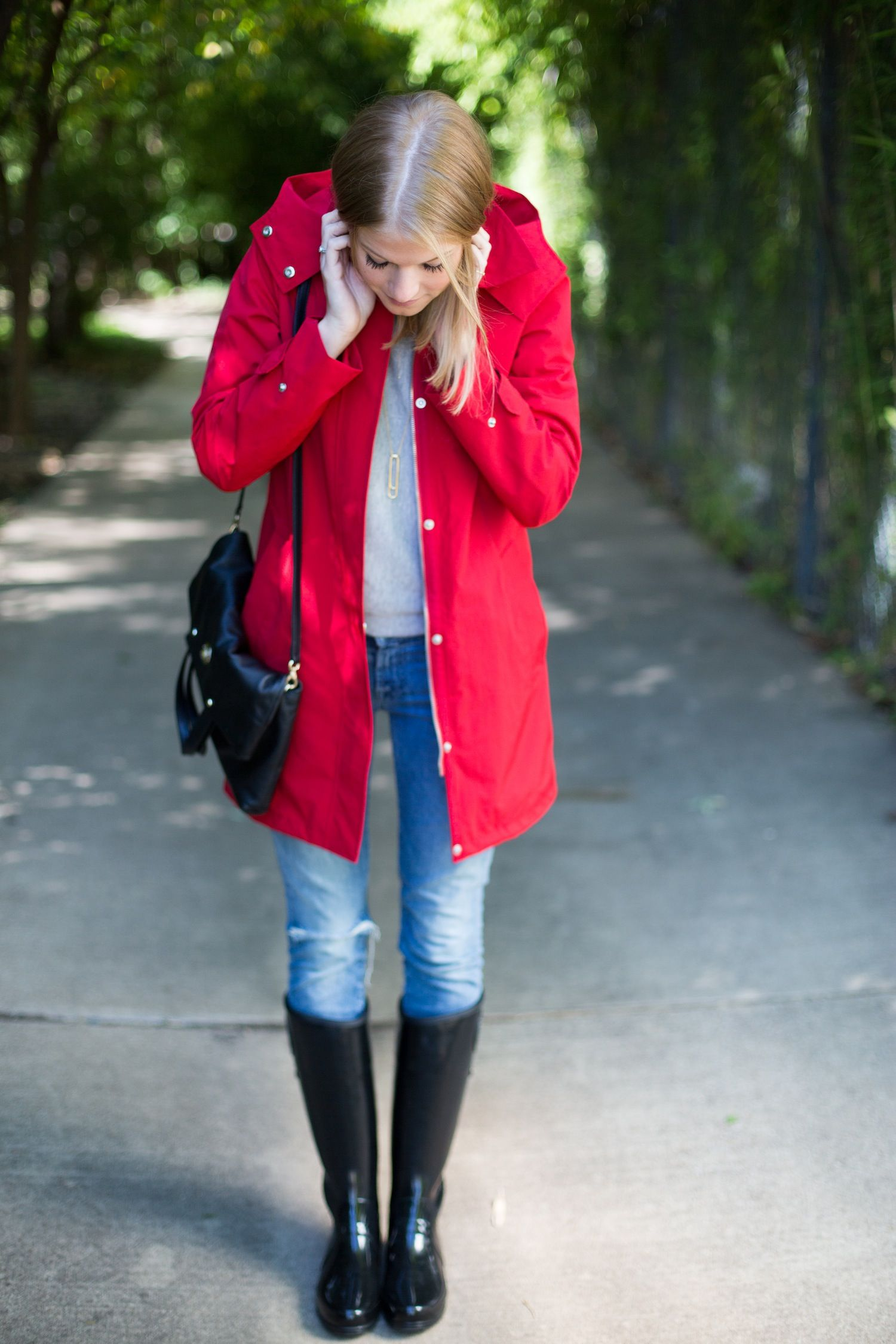 How to rain wear boots fashionable recommendations to wear in spring in 2019