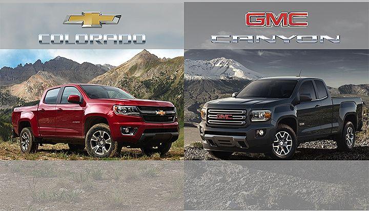 Chevy Colorado And Gmc Canyon V6 Get Impressive Combined 21 Mpg Gmc Canyon New Chevy Colorado Canyon Colorado