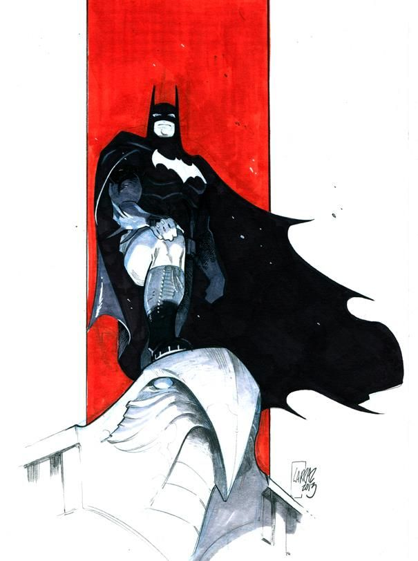 Batman by Pepe Larraz