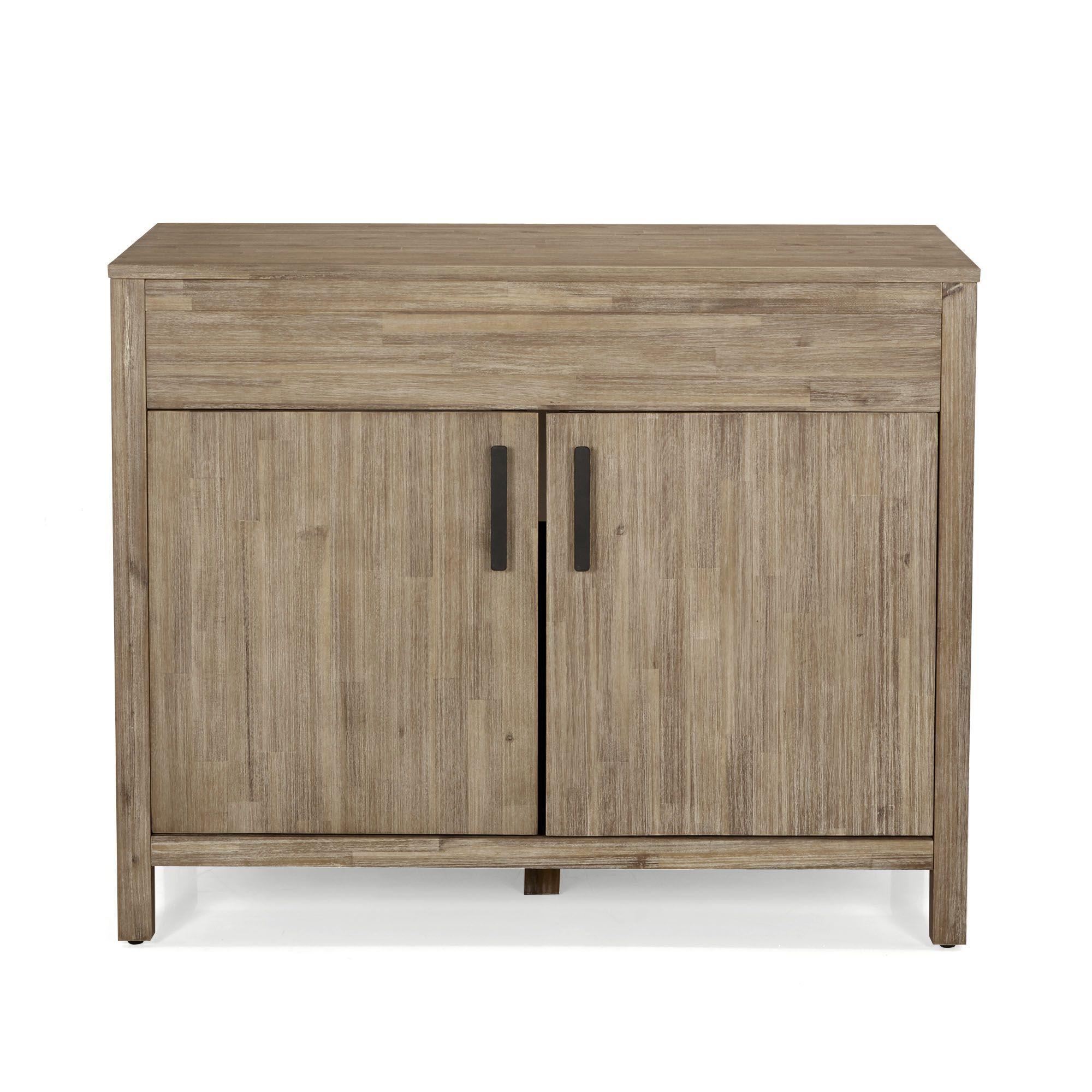 meuble de cuisine pour vier encastrer 2 portes naturel lys les cuisines modulables les. Black Bedroom Furniture Sets. Home Design Ideas