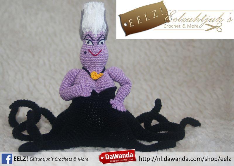 Amigurumi Eyes Pattern : Ursula the seawitch crochet pattern from eelz! eelzuhtjuh's