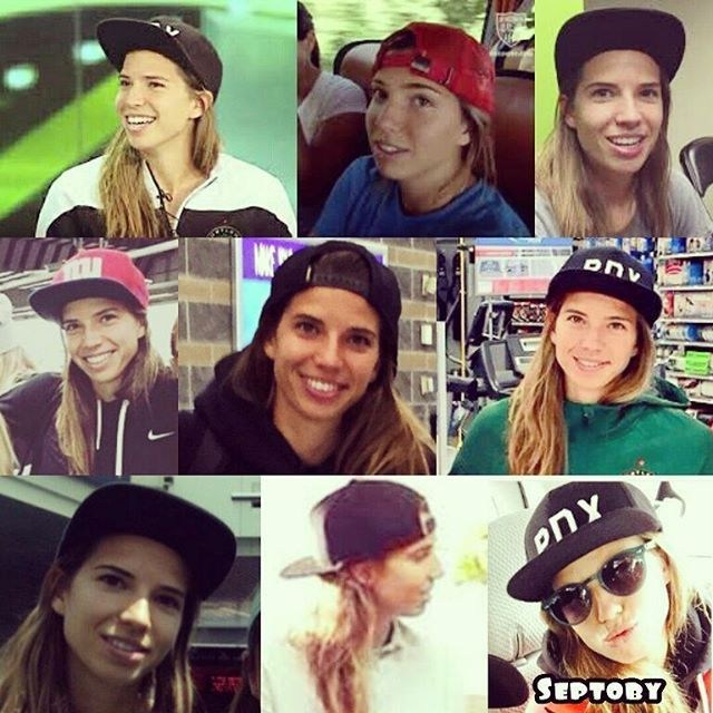 When Bae Wear Snap Back So Style N Cute Tobinheath Tobin Heath