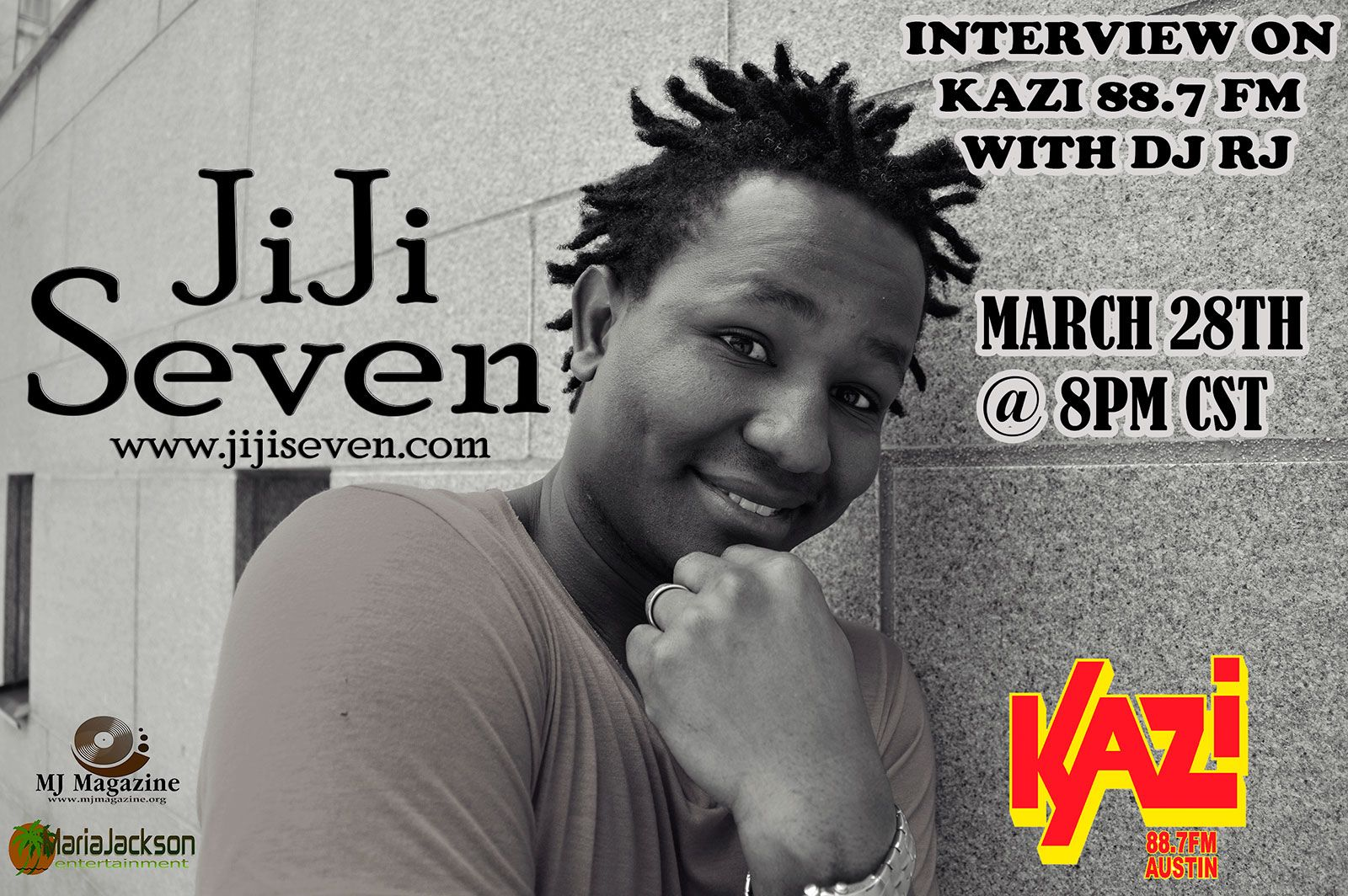 Jiji Seven interview on Reggae Evolution with DJ-RJ | Reggae