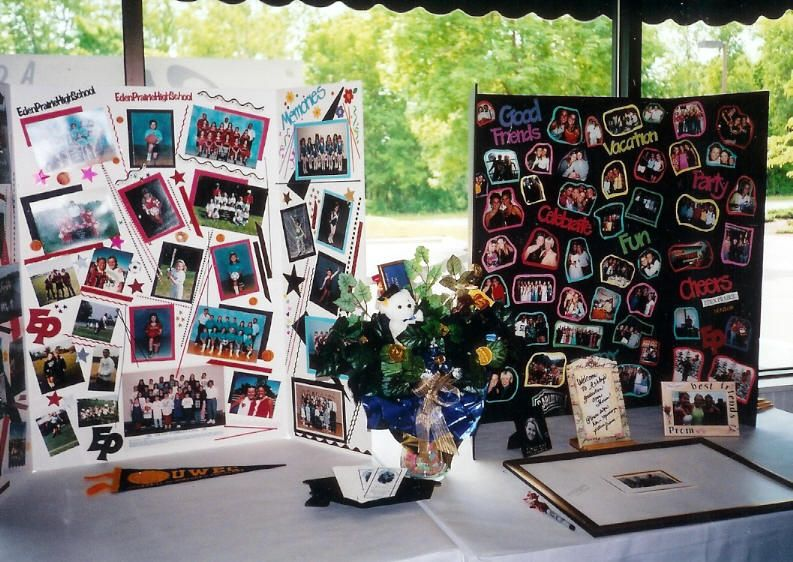 graduation photo board party ideas graduation poster board display