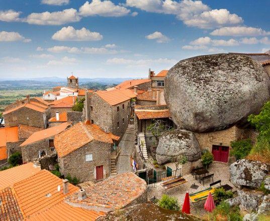 Portugal S Strange And Wonderful Boulder Homes Were Built Hundreds