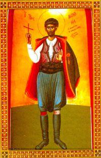 Свети новомученик Мануил Крићанин