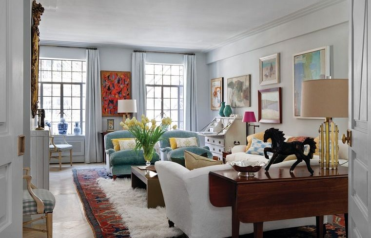 renovated-apartment-in-new-york-prewar-luxury-home-interiors-chic ...